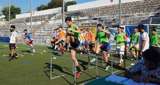 Sorrento al lavoro per la D, stage per i giovani allo stadio Italia