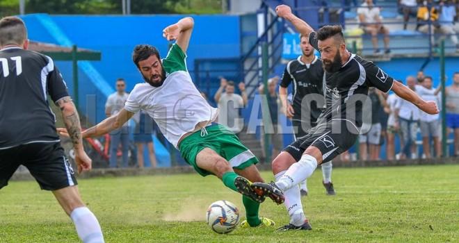 Il gol decisivo siglato da Bottin: 2-1