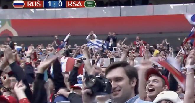 Russia-Arabia Saudita 5-0: tutto troppo facile per i padroni di casa