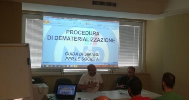 I relatori Picciano e Tozzi