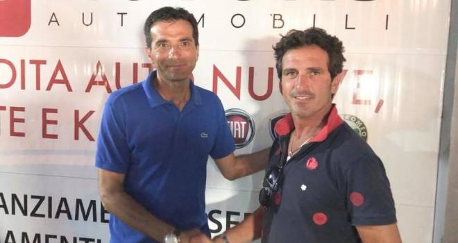Mister C. Amorosetti e il pres. Fontana