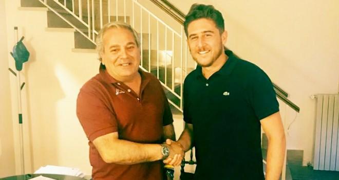 Il pres. G. Boniello con Mister C. Mauro