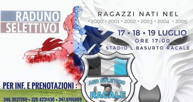 Atletico Racale, selezioni