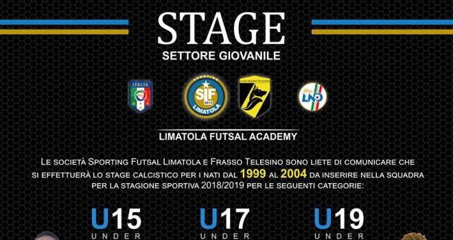 Stage Settore Giovanile Spor. Limatola