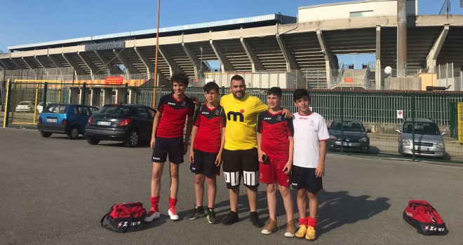 I 4 giovani Goti passati al Benevento