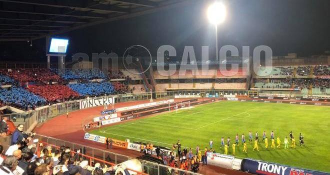 Cavese, trasferta libera a Catania: nessuna limitazione per i tifosi