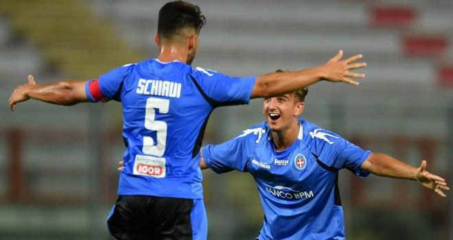"""Perugia-Novara 1-3, azzurri avanti in Coppa Italia coi """"golden boys"""""""
