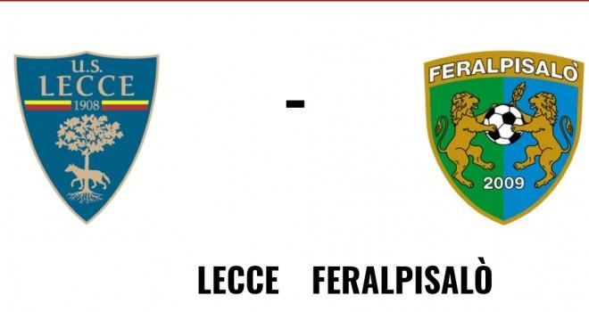Lecce-Feralpisalò, formazioni ufficiali