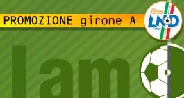 Promozione Girone A: ufficializzati i calendari. La prima giornata