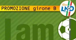 Promozione Girone B: ufficializzati i calendari. La prima giornata