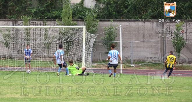 L'Albanova cede nel finale al Giugliano nella gara di andata di Coppa