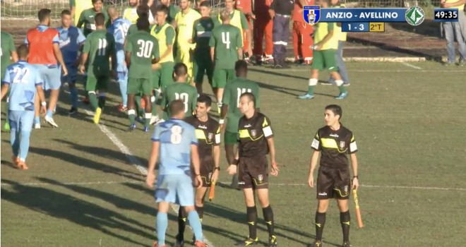 Anzio - Avellino 1-3: De Vena cambia l'Avellino e regala la vetta