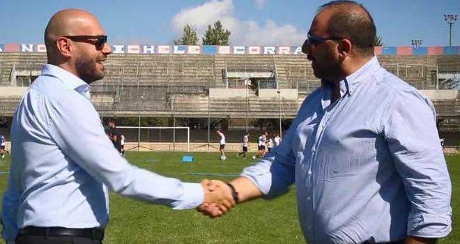 Il presidente Circelli a destra