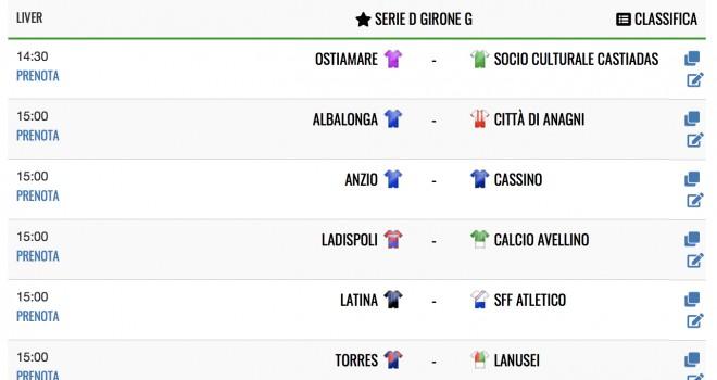 Serie D Su I Am Calcio Avellino La Diretta Live Del Girone G I Am Calcio Italia