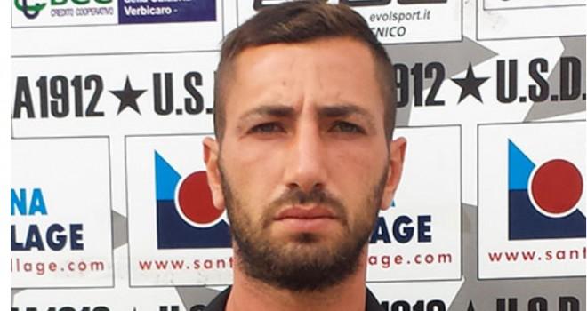Raffaele Favieri dell'Atletico Lauria