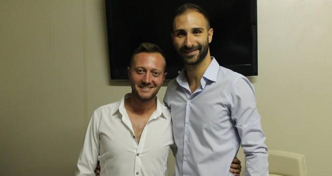 Il D.s. Garofano e il pres. Martorella