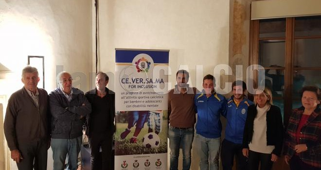 Calcio e sociale: Presentato Ceversama for Inclusion