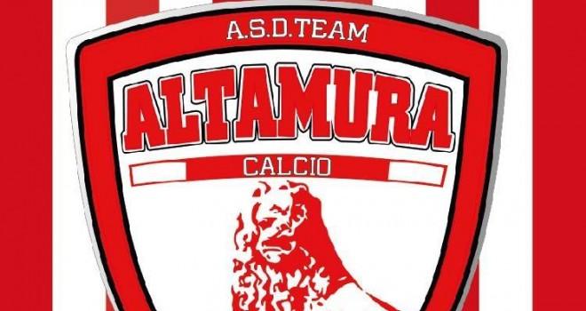 Team Altamura, nuovo rinforzo per mister Dibenedetto. Torna...