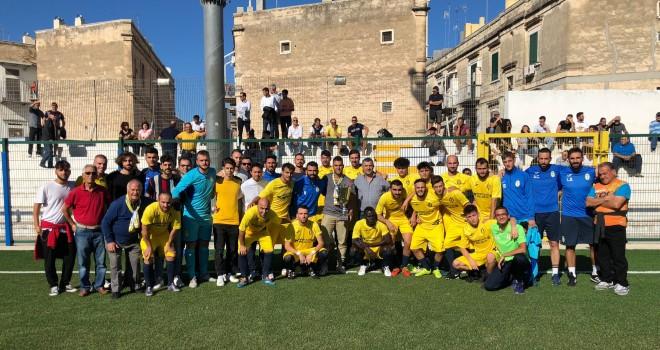 Don Uva Calcio: prima vittoria in campionato, 2-0 al Bitetto