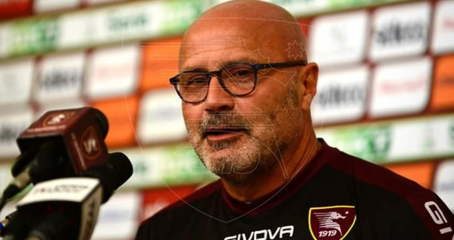 "Salernitana, Colantuono: ""B equilibrata, per noi classifica bugiarda"""