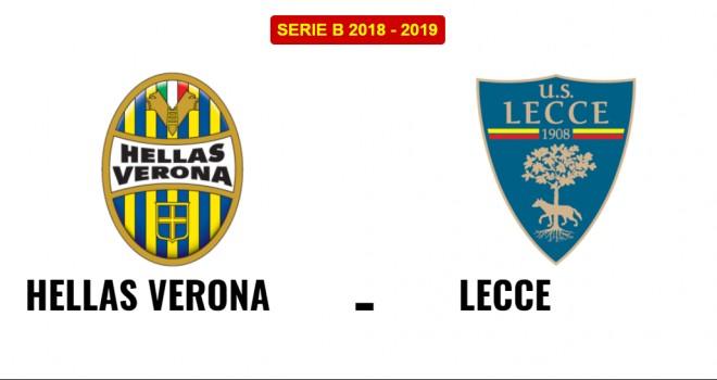 Hellas Verona-Lecce formazioni ufficiali