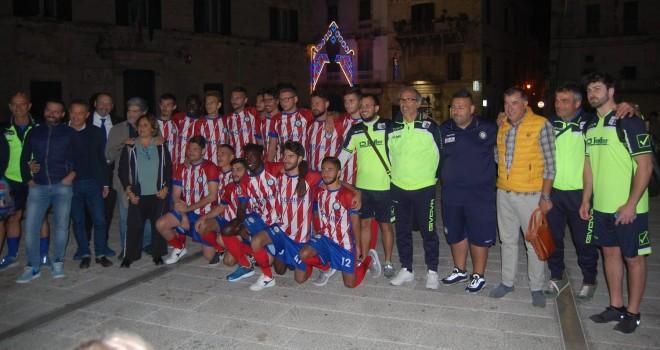 Ruvese, presentata la prima squadra nella cornice di Palazzo Melodia