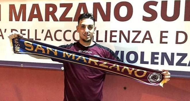 San Marzano: tesserato l'attaccante Cascone