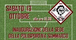 Polisportiva Sammarco, sabato la presentazione della squadra in piazza