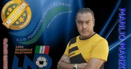 Lorenzo Toriello ambiziosa: si punta alla Seconda con Manzo in panca