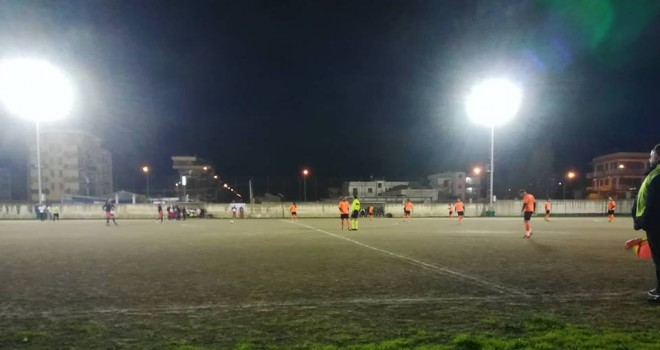 I legni fermano l'Aragonese: sul campo del B. C. Afragola finisce 1-1