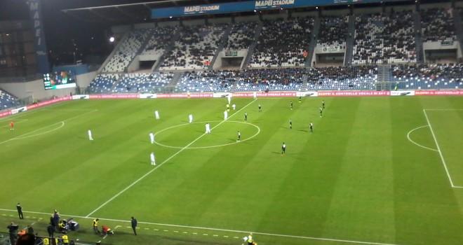 Sassuolo-Lazio 1-1, le due squadre non si fanno male