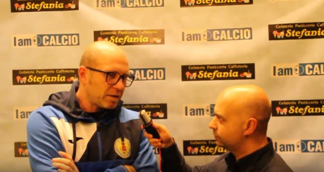 Francesco Lanza, a sinistra