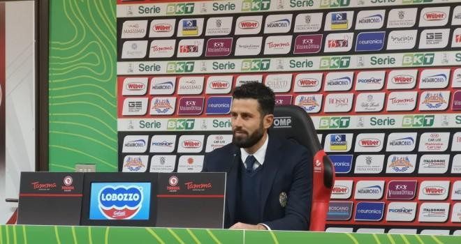 """Hellas Verona, Grosso: """"Partita indirizzata da decisioni arbitrali"""""""