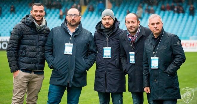 I dirigenti. Ph. S.S. Campobasso Calcio