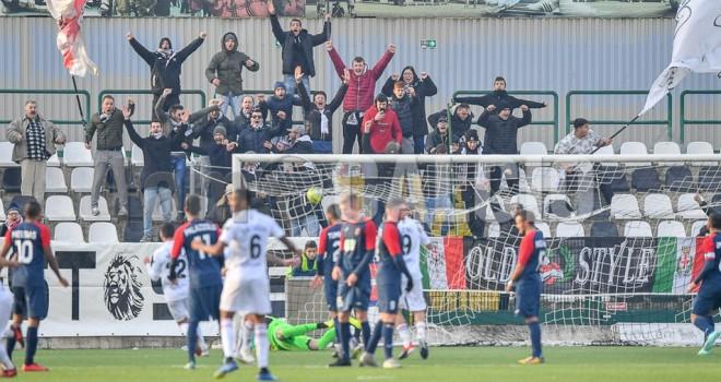 Gozzano-Pro Vercelli 0-1, Mammarella decide il derby
