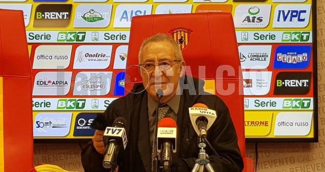 Il Pres. O. Vigorito, Benevento