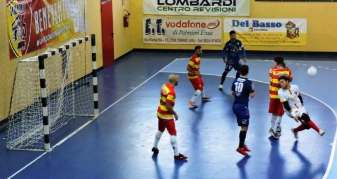Benevento 5 implacabile al PalaFerrara: Sporting Cavese battuto 3-1