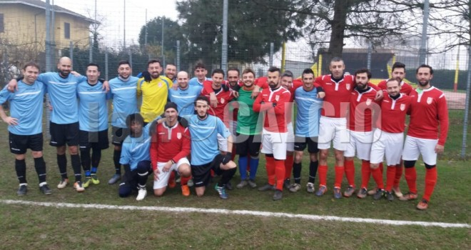 Le due squadre unite a Granozzo