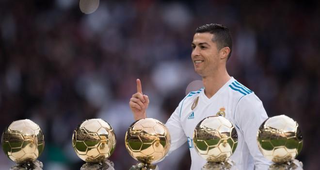 5° Pallone d'Oro per Cristiano Ronaldo