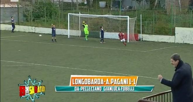 Longobarda e Atletico Pagani pareggiano davanti alle telecamere Rai