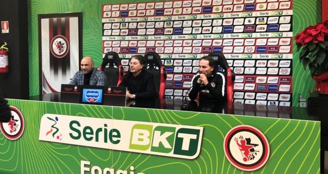 LIVE - Foggia, conferenza stampa in diretta dallo Zaccheria