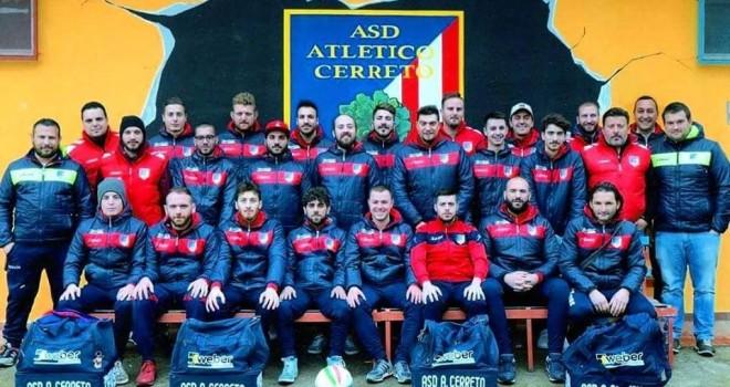 L'Atletico Cerreto promosso in 1a Cat.