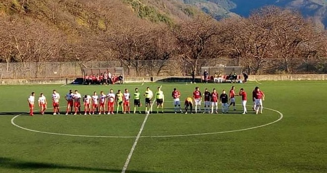 Coppa Promozione: Angri batte Calpazio nel match di andata