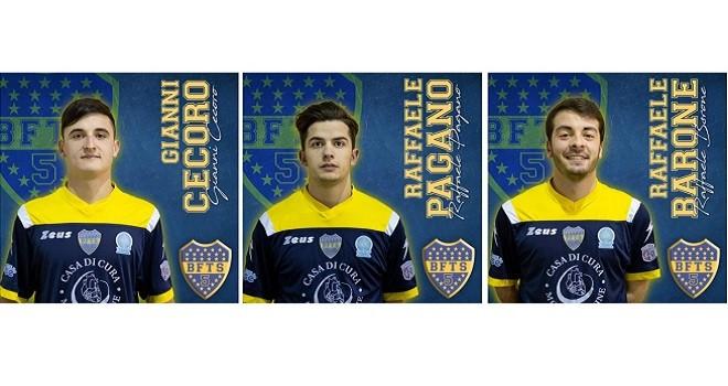 C5/C1. Il Boca fa spese in casa Futsal Parete: arrivano tre giovani