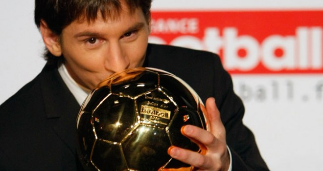 Messi e il Pallone d'Oro