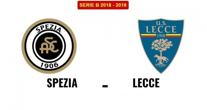 Spezia-Lecce, formazioni ufficiali