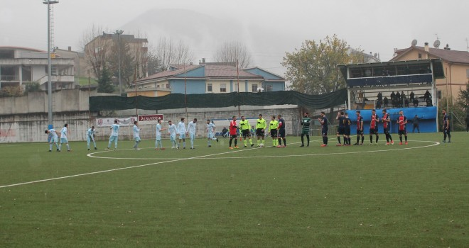 Finisce 0-0 il big match: Lauria regina di inverno, Brienza secondo