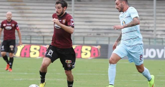 Il centrocampista Andrea Bovo