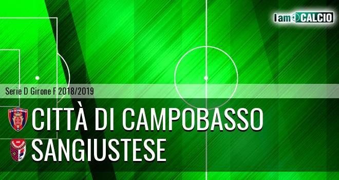 Le ufficiali.  Campobasso Calcio