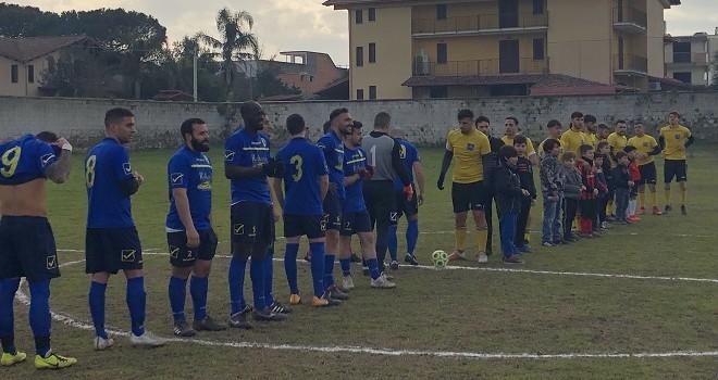 """Real Parete-Virtus Carano 0-1. Cuciniello: """"Giocato bene, peccato..."""""""